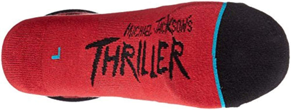 Men's Michael Jackson Thriller Socks - Vinyl Soundtrack I Am Shark