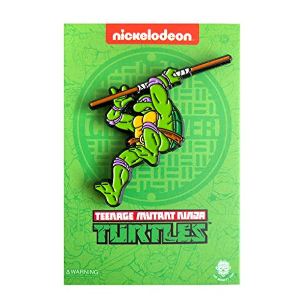 Leaping Donatello: Teenage Mutant Ninja Turtles - Enamel Pin