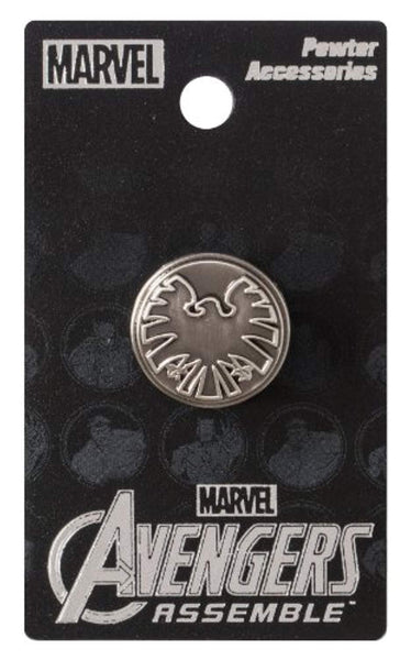 Marvel Avengers Shield Eagle Logo - Enamel Pin