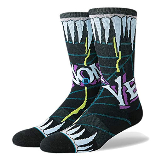 Stance Venom Socks  - Black - Vinyl Soundtrack I Am Shark