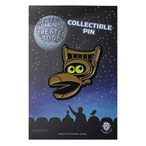 Mystery Science Theater 3000 Crow Enamel Pin