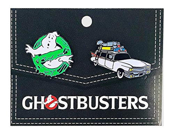 Ghostbusters 2-Pack Enamel Pin Set