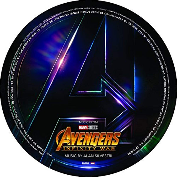 Avengers: Infinity War (Original Motion Picture Soundtrack)  Picture Disc LP