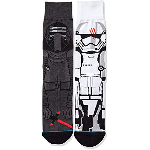 Star Wars Men's Disturbance Crew Sock - Vinyl Soundtrack I Am Shark