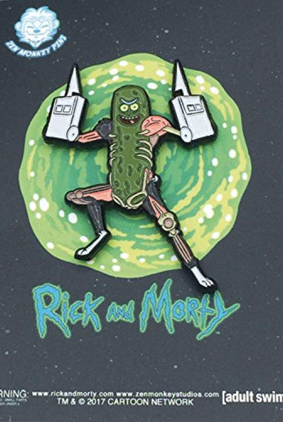 Rick & Morty - Pickle Rick With Rat Limbs - Enamel Pin