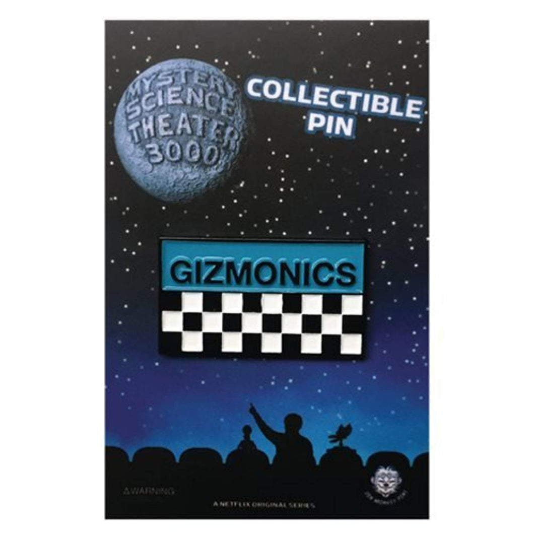 Mystery Science Theater 3000 Gizmonics Badge - Enamel  Pin