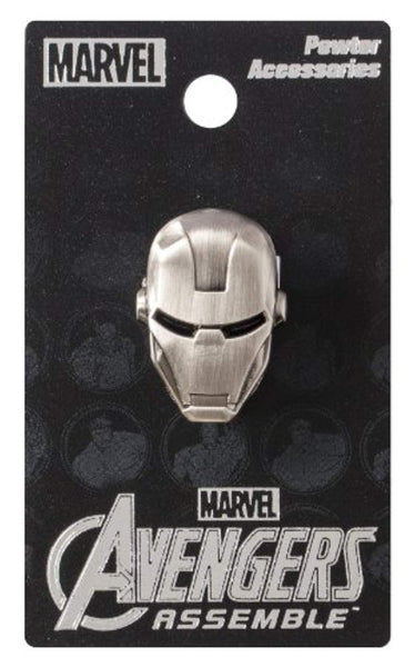 Marvel Iron Man Head - Pewter Pin