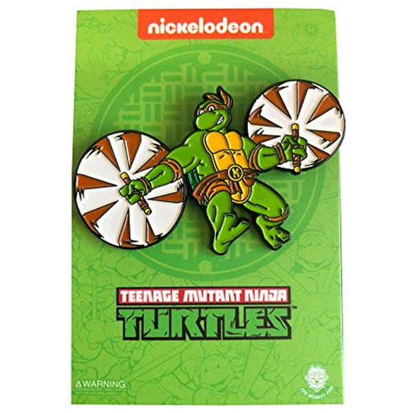 Leaping Michelangelo: Teenage Mutant Ninja Turtles - Enamel Pin
