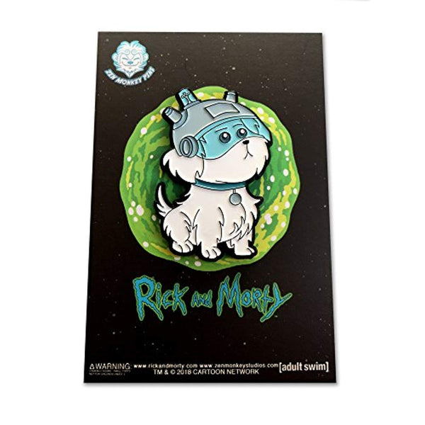 Rick and Morty - Snowball - Collectible Pin - Vinyl Soundtrack I Am Shark