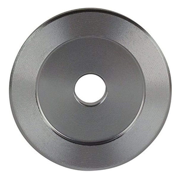 45 RPM Adapter - Aluminum - 7 inch Vinyl Record Dome 45 Adapter - Vinyl Soundtrack I Am Shark