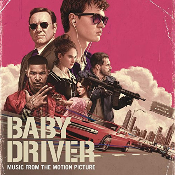 Baby Driver (Music from the Motion Picture) 2xLP - Vinyl Soundtrack I Am Shark