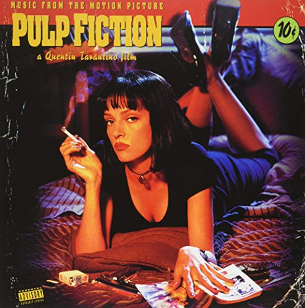 Quentin Tarantino's - Pulp Fiction (Music From The Motion Picture) LP - Vinyl Soundtrack I Am Shark
