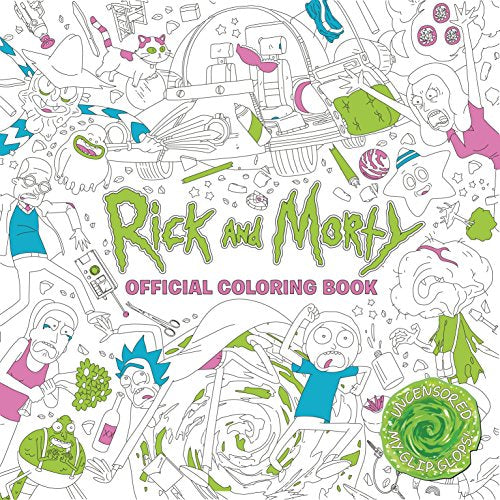 Rick and Morty Official Coloring Book - Vinyl Soundtrack I Am Shark