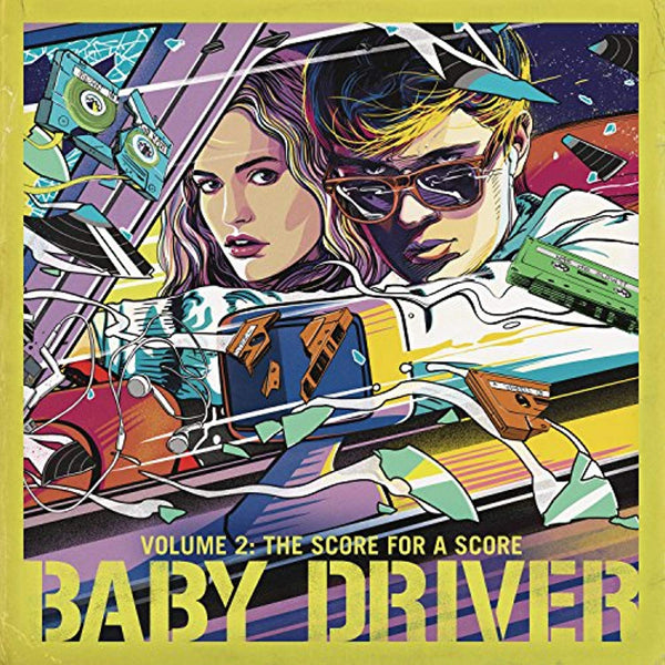 Baby Driver Volume 2: The Score for A Score (Original Score by Steven Price) - Vinyl Soundtrack I Am Shark