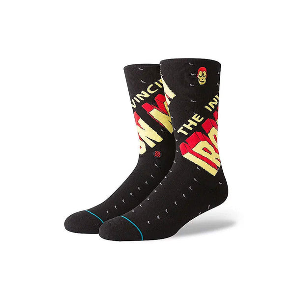 Marvel Men's Invincible Iron Man Socks