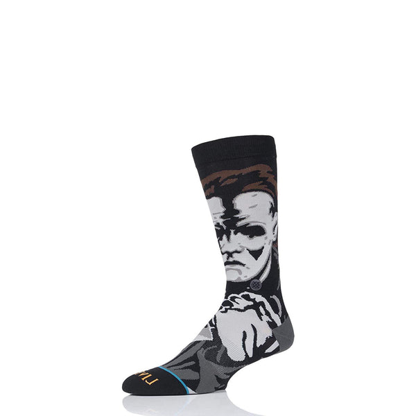 Halloween Men's Michael Myers Socks - Vinyl Soundtrack I Am Shark