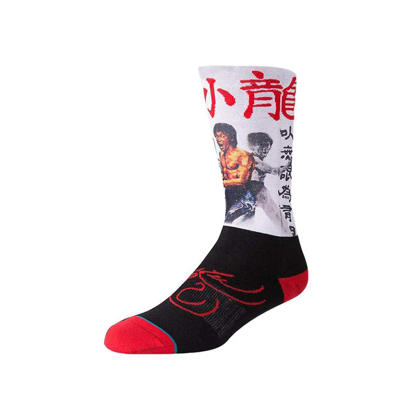 Men's Bruce Lee x Stance Collection Crew Socks