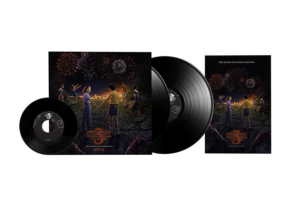 "Stranger Things: Soundtrack from the Netflix Original Series (Season 3) 2xLP + 7"" - Vinyl Soundtrack I Am Shark"