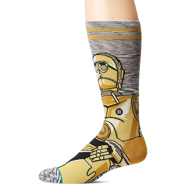 Star Wars Men's C-3PO Android Socks