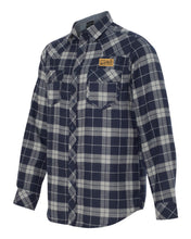 Sink or Swim Flannel (Navy & Grey)