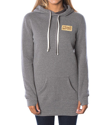Sink or Swim Hoodie Dress (Grey)