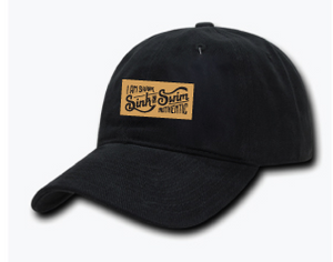 Sink or Swim Dad Hat (Black)