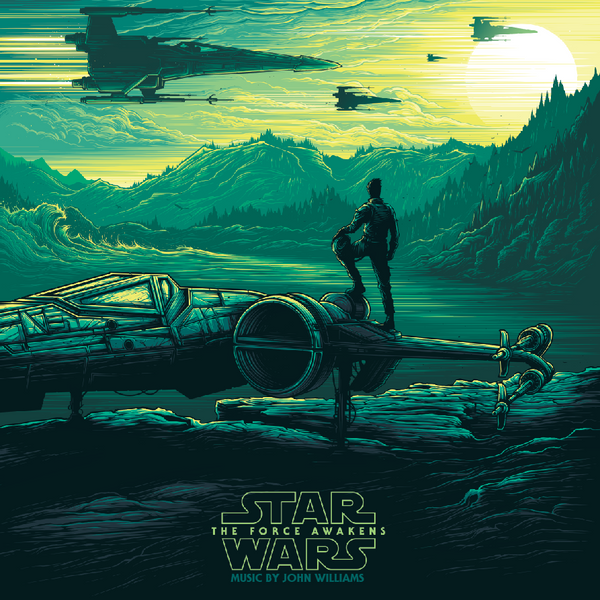 Star Wars: The Force Awakens - Original Motion Picture Soundtrack (Collector's Edition) POE - Vinyl Soundtrack I Am Shark