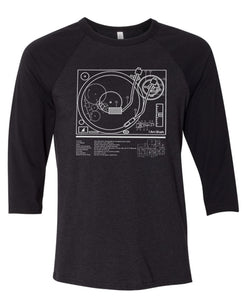 Schematics 3/4 Sleeves Raglan Tee