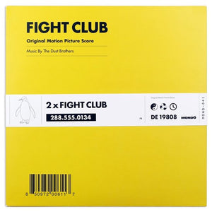 Fight Club (1999 Original Soundtrack) - The Dust Brothers 2xLP