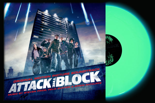 Attack The Block (Original Motion Picture) - Glow In The Dark 2xLP - Vinyl Soundtrack I Am Shark