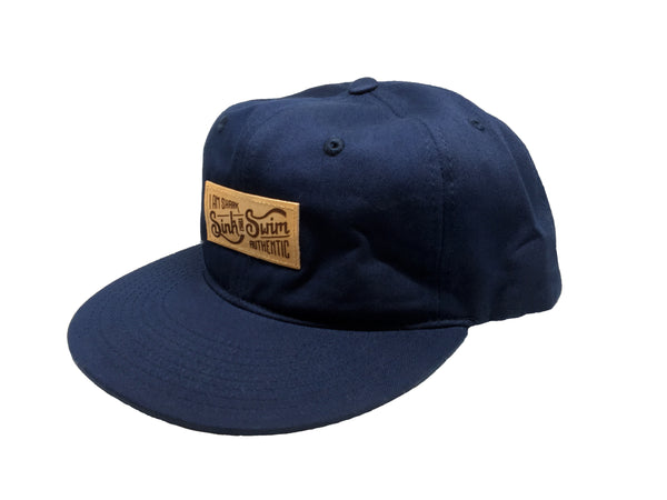 Relax Sink or Swim Snapback (Navy) - Vinyl Soundtrack I Am Shark