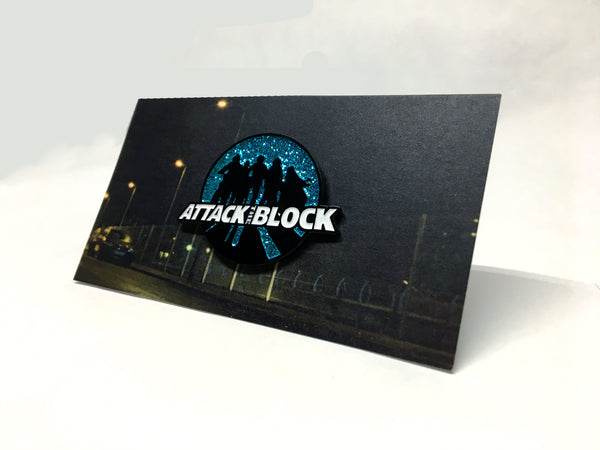 Attack The Block - Sillouhette Pin - Vinyl Soundtrack I Am Shark