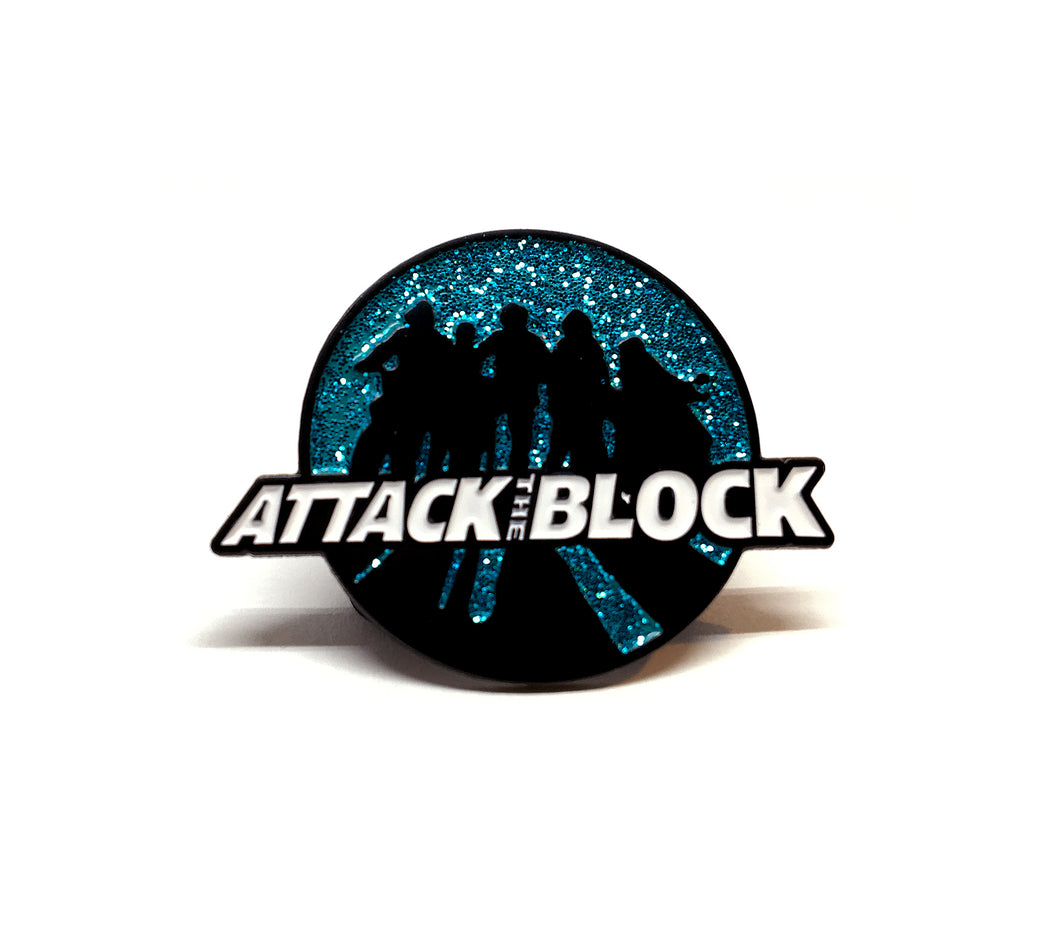 Attack The Block - Sillouhette Pin