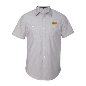 Sink or Swim Woven Short Sleeve Button Up
