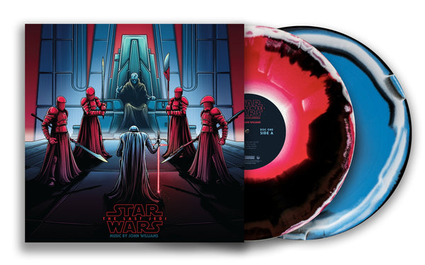 Star Wars: The Last Jedi - Original Motion Picture Soundtrack (Collector's Edition) Snoke & Kylo - Vinyl Soundtrack I Am Shark