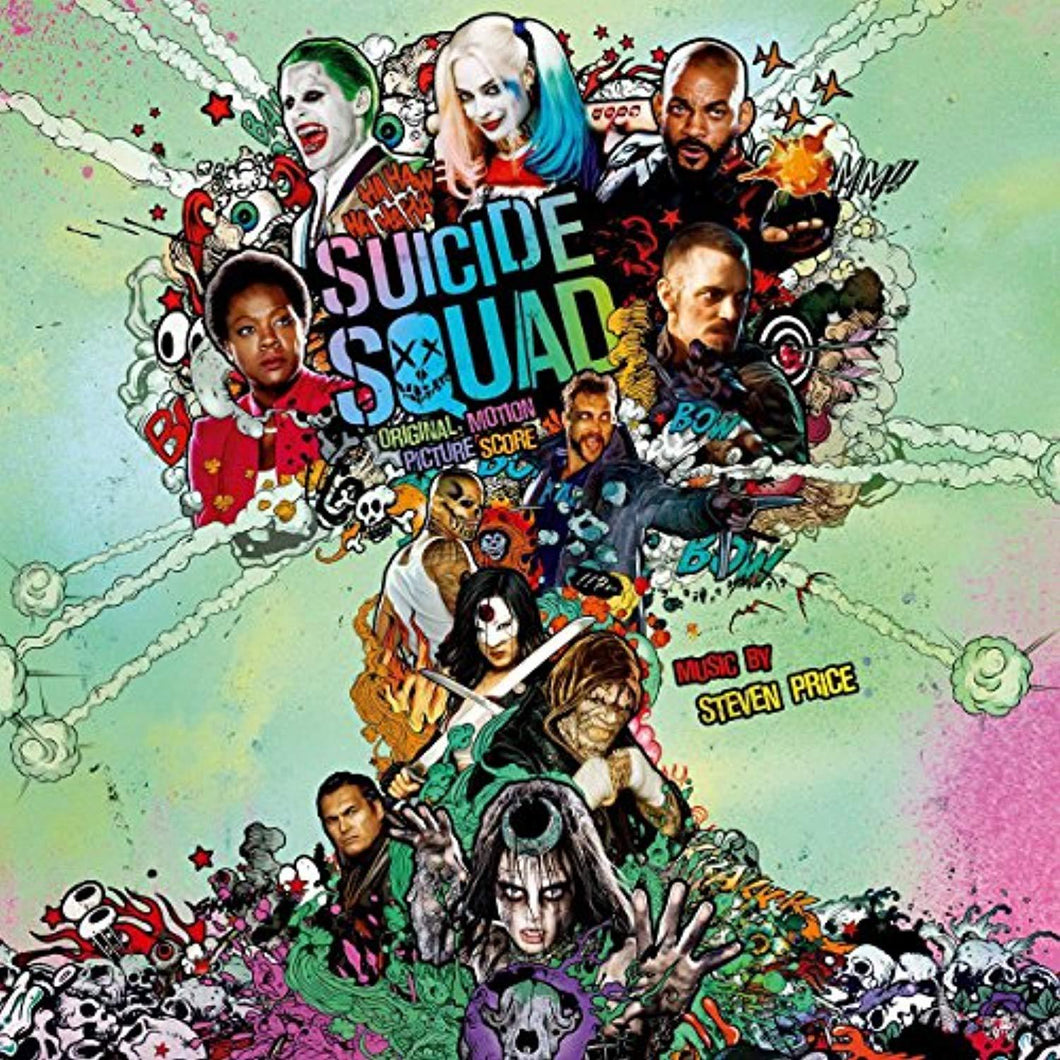 Suicide Squad (Original Motion Picture Score) 2xLP - Vinyl Soundtrack I Am Shark