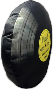 "Vinyl Record - 12"" Pillow"
