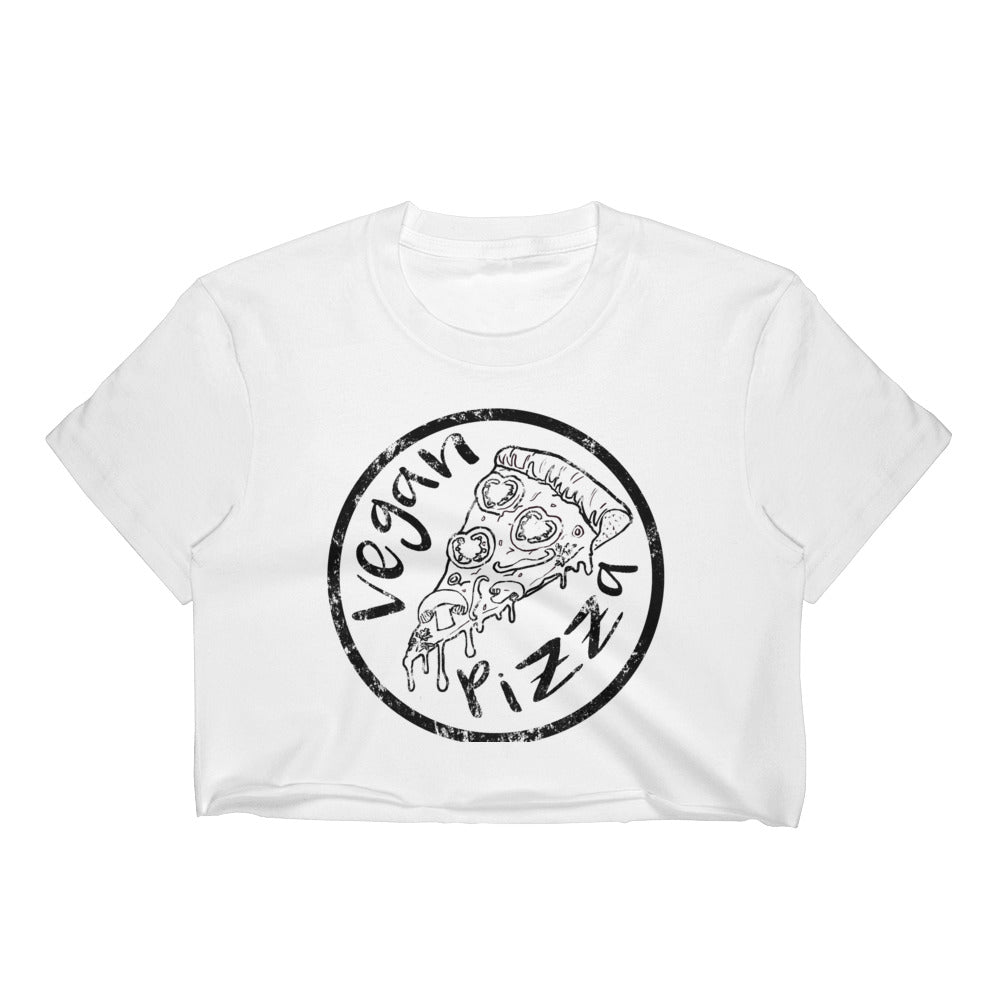 Vegan Pizza Women's Crop Top