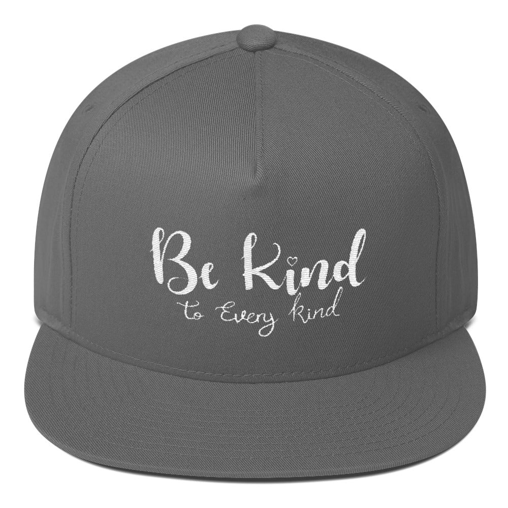 Be Kind To Every Kind Flat Bill Cap
