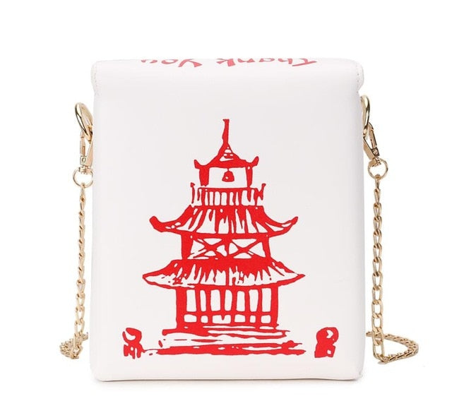 Chinese Tower Take Out Bag