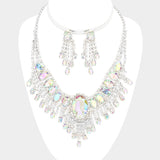 Crystal Ephemeral Wings Necklace