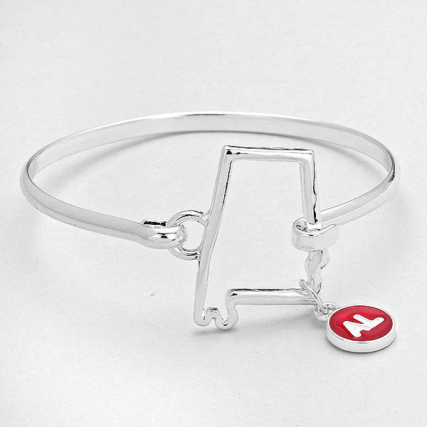"""Alabama"" Bangle Bracelet"