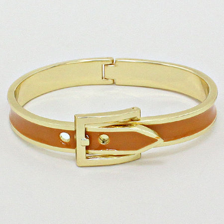 Enamel School Bus Hook Bracelet