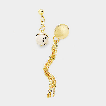 Secret Box _ 14k Karat Gold Dipped Twist Pin Catch Earrings