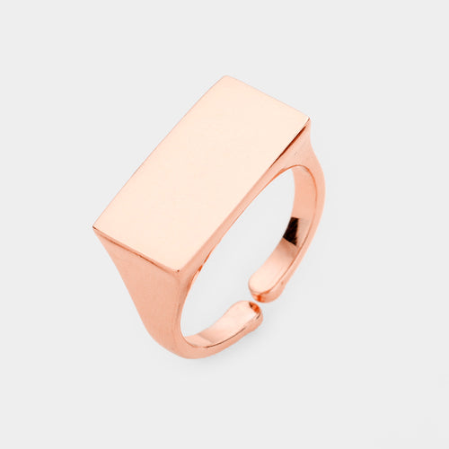 Rectangle Metal Ring