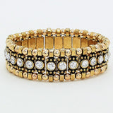 Vintage Studded Stretch Bracelet