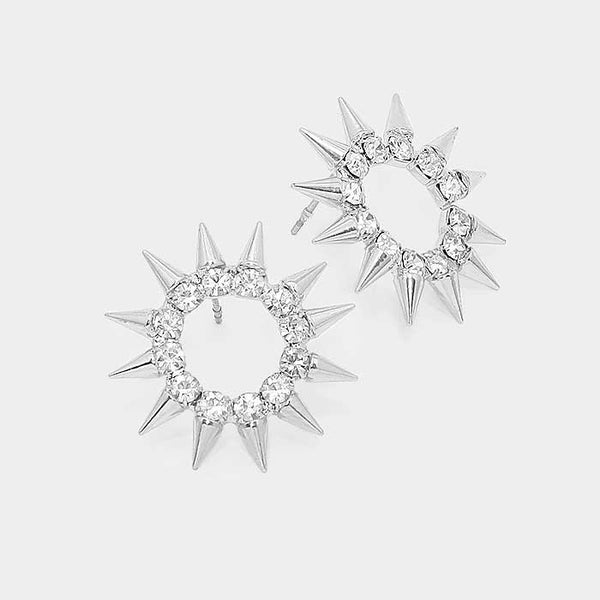 Spike Stud Earrings