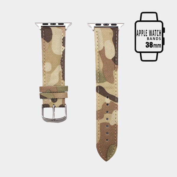 Camouflage Pattern Apple Watch Band