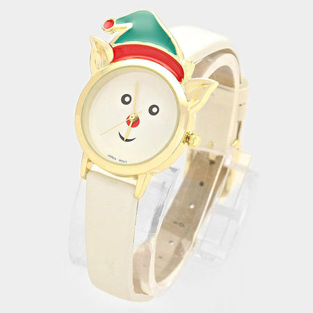 Thinking Emoji _ Silicone Strap Watch