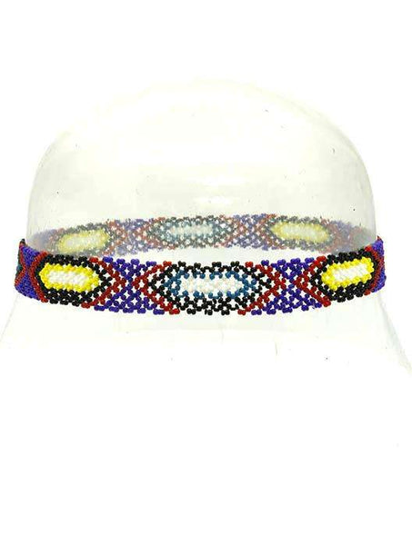 Amazing Diamond Print  Microbead Elastic Head Band